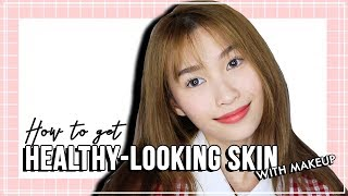 how to get healthy looking skin using makeup with bourjois ❤️