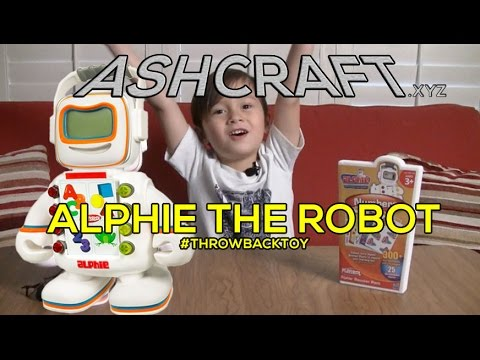 Alphie the Robot - Throwback KIDS TOY REVIEW (Ep17)