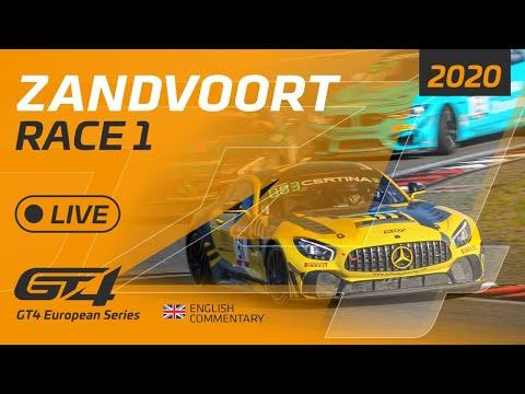 RACE 1 - GT4 EUROPEAN SERIES - ZANDVOORT 2020 - ENGLISH