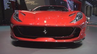 Ferrari 812 Superfast Rosso Corsa (2018) Exterior and Interior