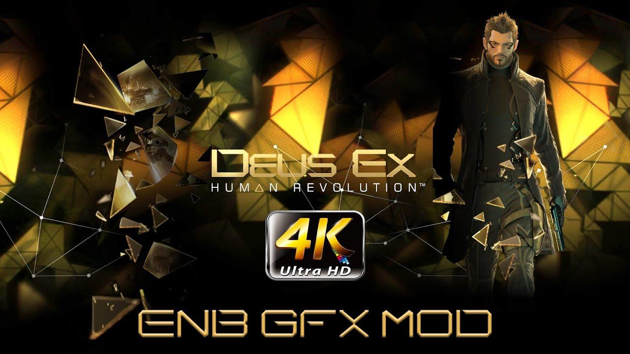 deus ex  human revolution   4k pc ultimate gfx mod