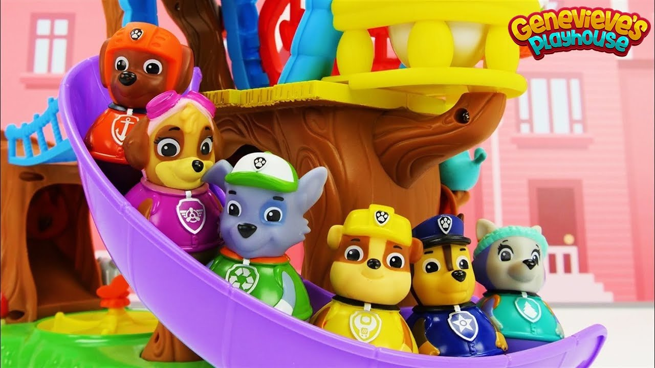 Download Weeble Toy Treehouse featuring Paw Patrol Weebles!