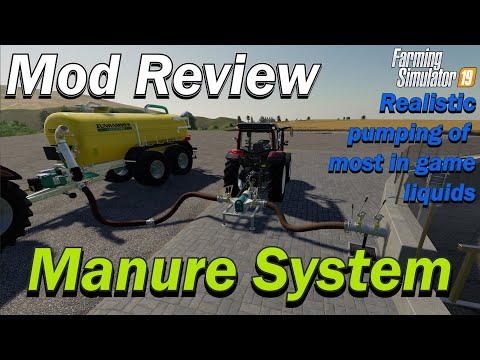 Mod Review - Manure System By Wopster