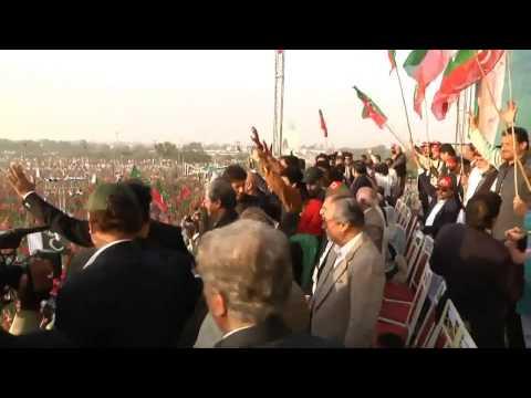 Naya Pakistan - InshAllah - PTI Imran Khan , Junaid Jamshed Official New video Song 2013