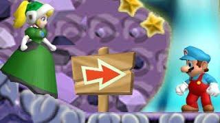 Newer Super Mario Bros. Wii - 3 Player Co-Op - #25