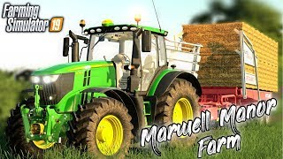 FLAT OUT TRACTOR DRIVING | Marwell Manor Farm - Episode 2