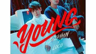 Gambar cover [ Clean Instrumental ] 백현 [ BAEKHYUN EXO ] X 로꼬 [ LOCO ] - YOUNG [ STATION 0 ]
