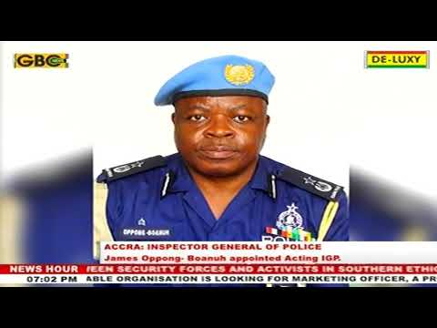 President Akufo-Addo Appoints James Oppong-Boanuh As Acting IGP