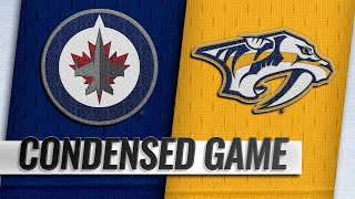 10/11/18 Condensed Game: Jets @ Predators