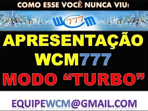 WCM 777 -- World Capital Market (Nova apresentçao) 2013
