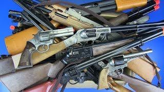 Box of Toys ! Military,Police,Hunter,Cowboy Weapons Toys Guns-Toys for Kids