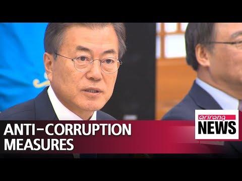 S. Korean gov't announces five-year anti-corruption plan