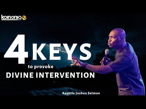 (MUST WATCH) 4 KEYS OF PROVOKING DIVINE INTERVENTION - Apostle Joshua Selman