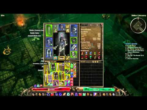 Grim Dawn Trickster build (nightblade and shaman build) lvl 50