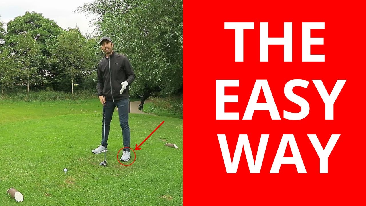 THE EASY WAY TO CLEAR YOUR HIPS IN THE GOLF SWING