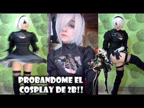Haul Cosplay - 2b Nier Automata - San Chan