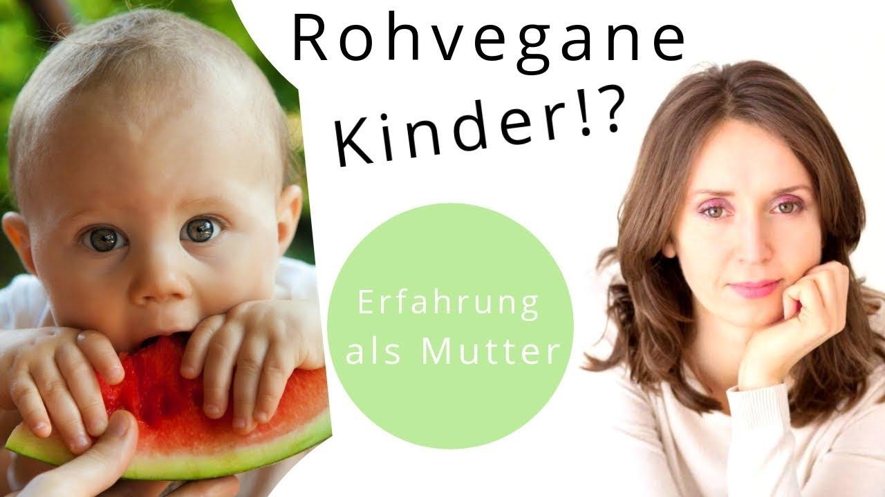 Rohvegane Kinder Interview mit Irina (3-fache Mutter!)