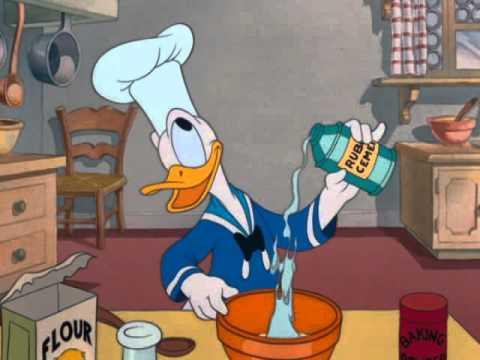 Mickey Trop Drôle Donald Fait La Cuisine I Disney