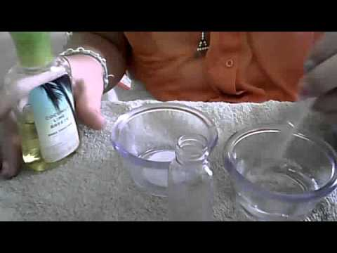 Homemade perfume with Witch Hazel
