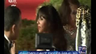 بالفيديو.. كلوديا كاردينالي تصل حفل مهرجان القاهرة السينمائي