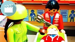 Playmobil Krakenhaus Film | Schwere Verletzung - Marvin und Jonas in Gefahr | Playmobil Film Deutsch