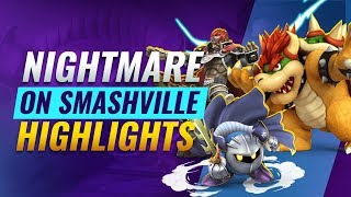 Nightmare On Smashville Smash Ultimate Tournament Highlights