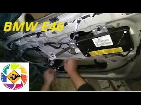 BMW E46 замена подъемника стекла  BMW E46 Glass Lift Replacement