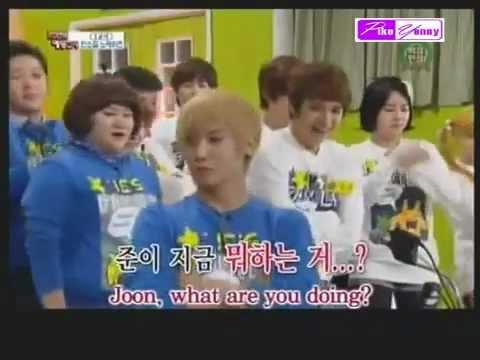 Lee Joon singing and dancing 'ABRACADABRA' (ENG SUB)