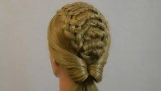 длинные волосы прически
