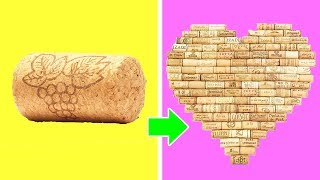 DIY CRAFTS WITH WINE CORKS