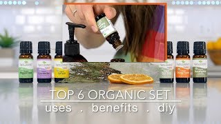 Top 6 Organic Essential Oils Set: Best Uses + Quick How To