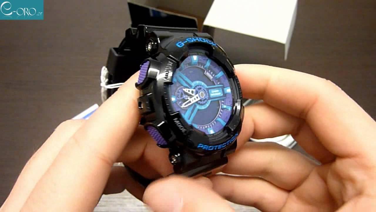 ca06d442ff648 CASIO G-Shock Mens Watch GA-110HC-1AER - E-oro.gr - YouTube