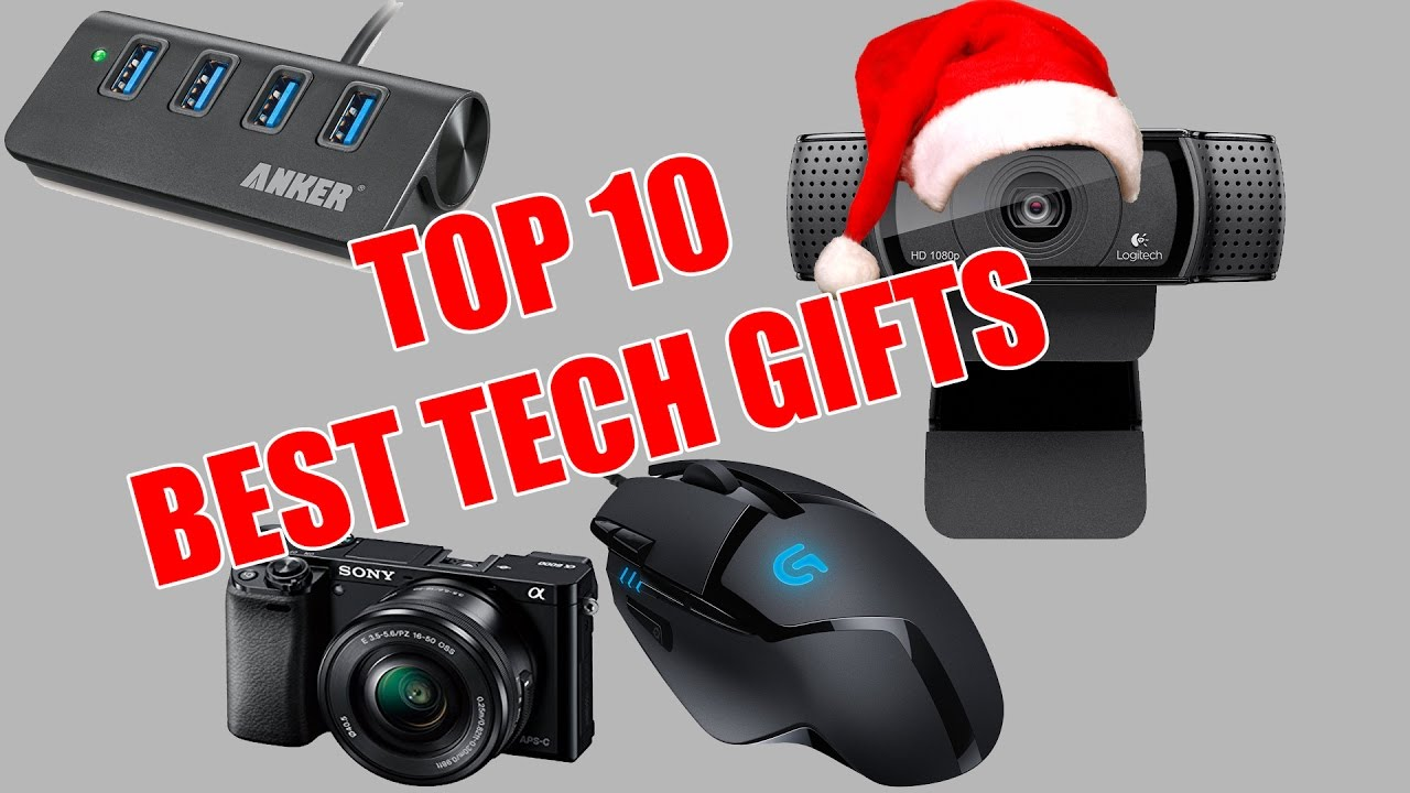 Top 10 best tech gifts for christmas 2016 youtube for Best new tech gifts