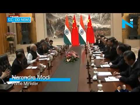 PM Modi and President Xi Jinping hold delegation level talks in Wuhan
