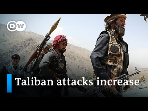 NATO troops leave Afghanistan as fighting escalates   DW News