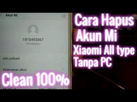Cara Hapus Akun Mi Cloud semua type Xiaomi || Remove Mi Cloud || Cara Hapus Akun Mi Cloud semua type.