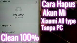 Cara hapus Akun Mi Xiaomi tanpa PC (new methode)