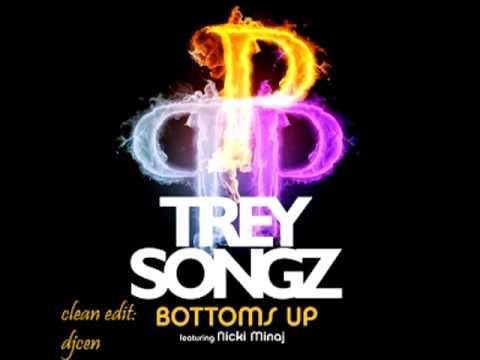 Bottoms Up - Trey Songz /ft. Nicki Minaj (Clean Radio Edit)