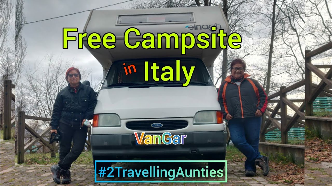 Free Campsite in Italy