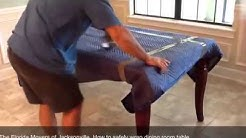 Movers Jacksonville Fl | How To Safely Wrap Dining Room Table