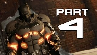 Batman: Arkham Origins Cold, Cold Heart Walkthrough Part 4 - NEW SUIT & GLITCH