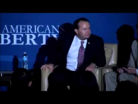 Senators Mike Lee, Rand Paul and Ted Cruz at the YAL convention