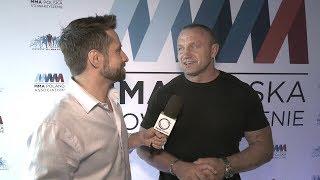Mariusz Pudzianowski ambasadorem MMA Polska | Pudzian o powrocie do KSW