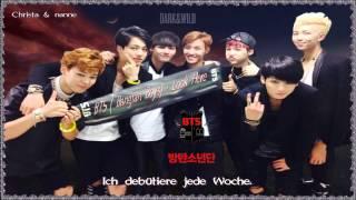 BTS (Bangtan Boys) - Look Here k-pop [german sub] 1집 DARK&WILD