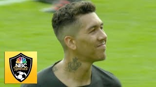 Roberto Firmino doubles Liverpool39s lead against Southampton  Premier League  NBC Sports