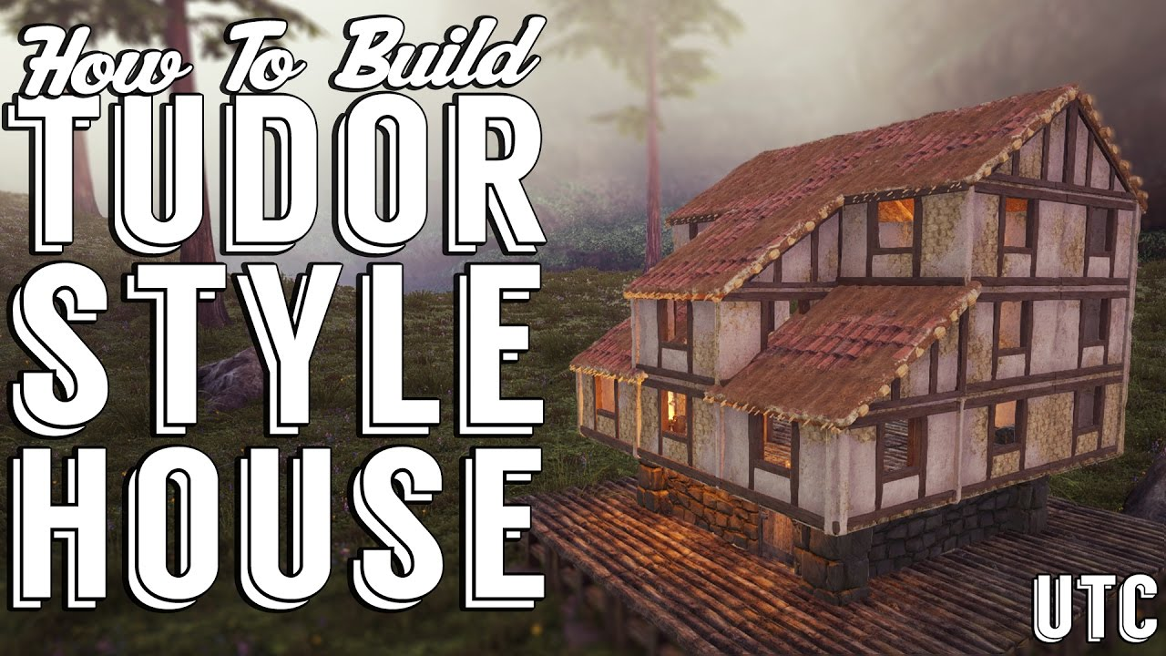 Ark tudor house ark build guide medieval house for How to go about building a house