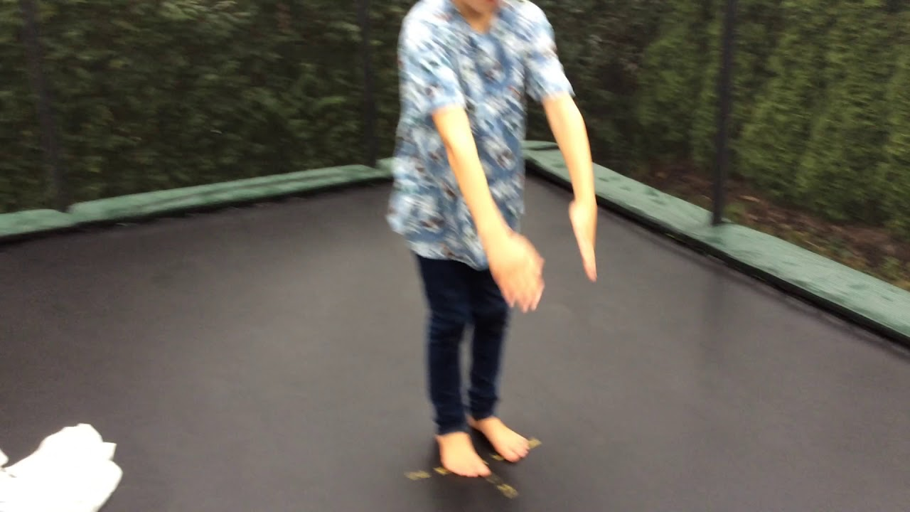 Rektangulær trampoline