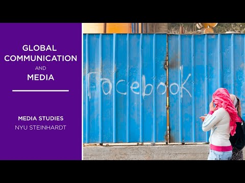 Global Communication And Media | NYU Steinhardt Department Of Media, Culture, And Communication