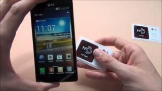 LG Optimus 4X HD - LG Tags und NFC