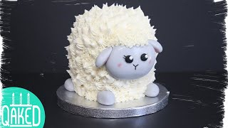 How to make a Baby SheepLamb Cake for Eid!